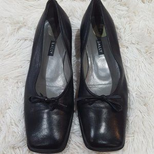 Bally Takawa Square Toe flats